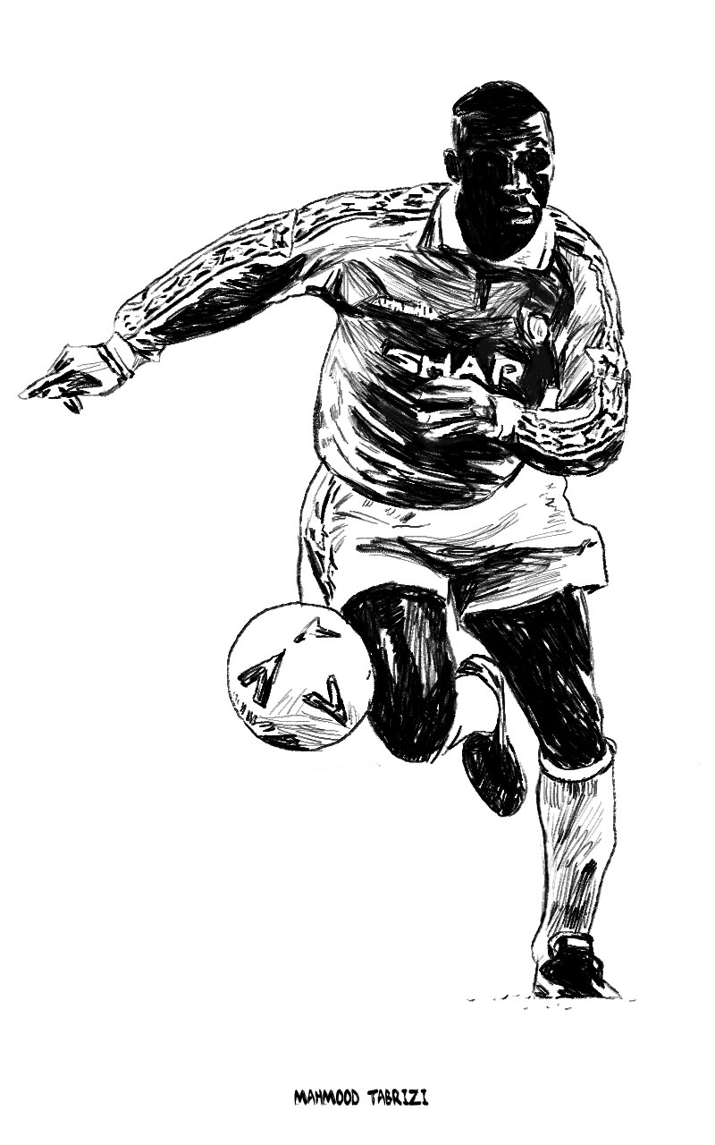 Andy Cole painting