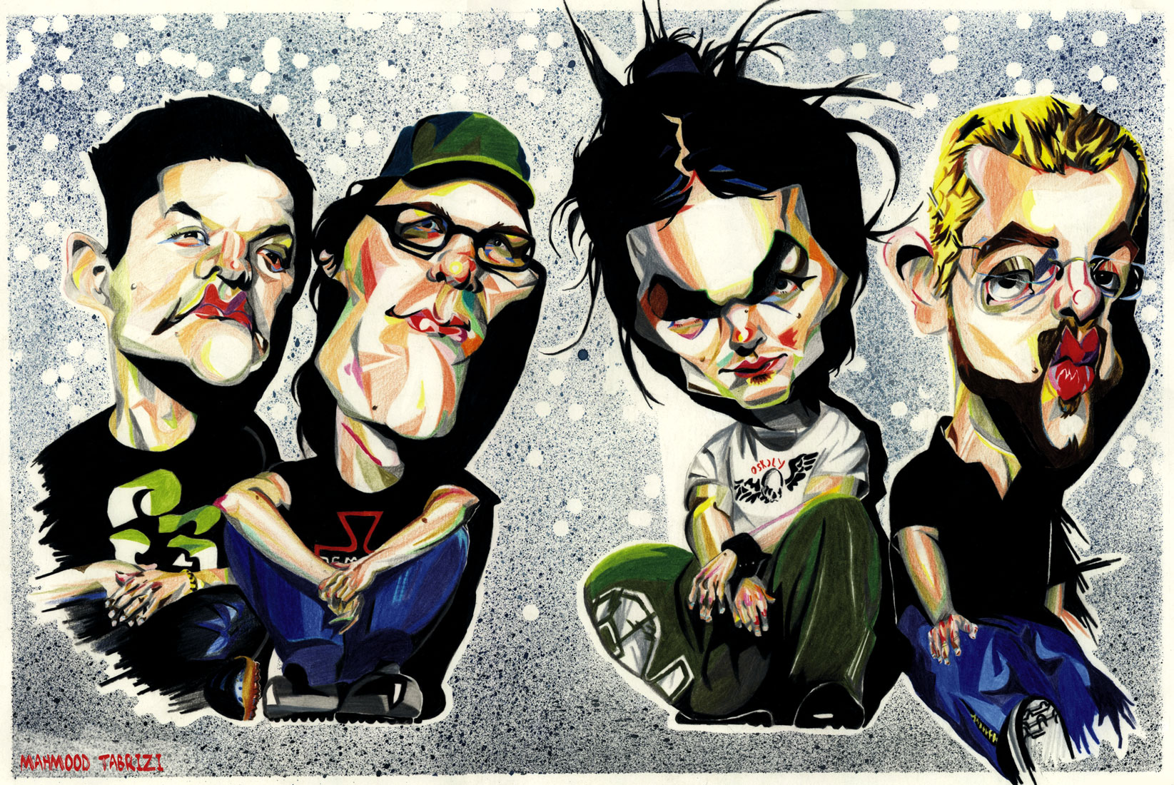 The Rasmus caricature
