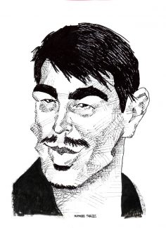 Josh Hartnett caricature