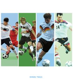 germany football painting sample