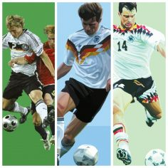 germany fussball painting