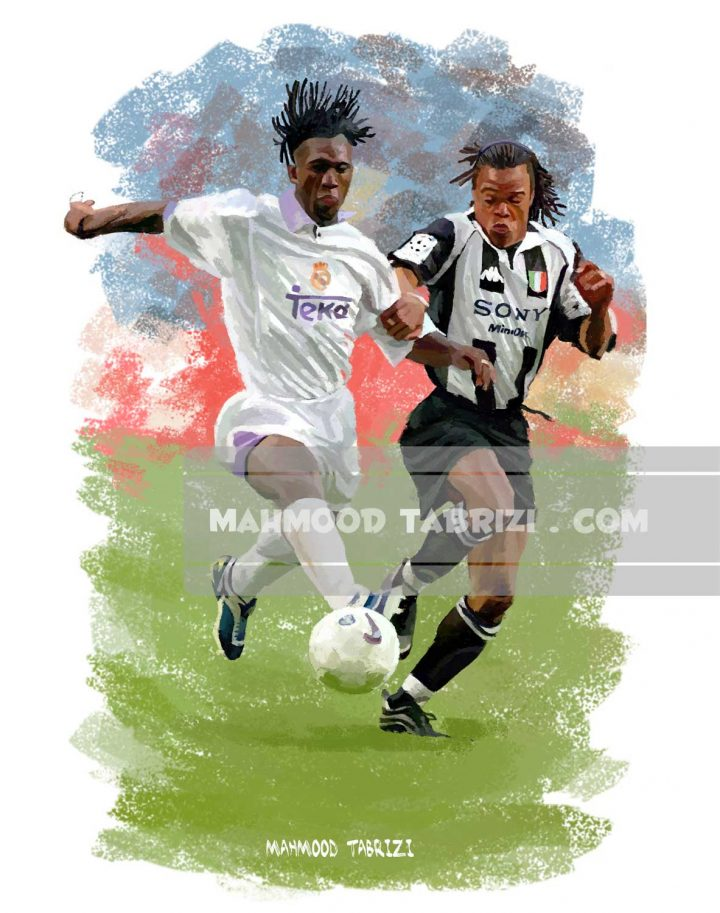 Mahmood Tabrizi football painter