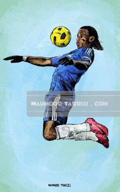 Mahmoud Tabrizi football painter