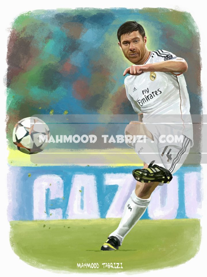 footballer paintings mahmood tabrizi