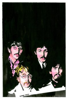 Beatles painting mahmoud tabrizi