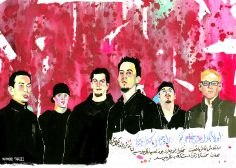 Linkin Park painting mahmood tabrizi