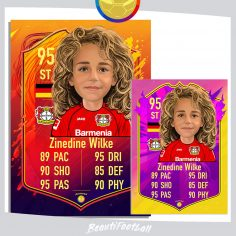 Order FIFA card with your Portrait painting
