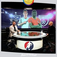 Painter and graphic designer of sports and TV programs by Mahmood Tabrizi