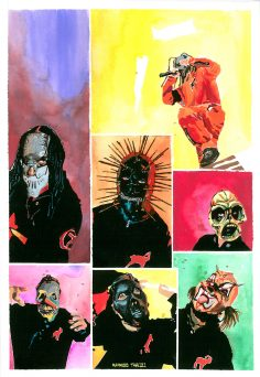 Slipknot painting