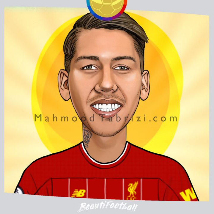 firmino painting firmino caricature
