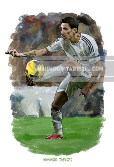 football paintings mahmoud tabrizi