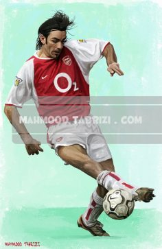 footballer paintings mahmoud tabrizi