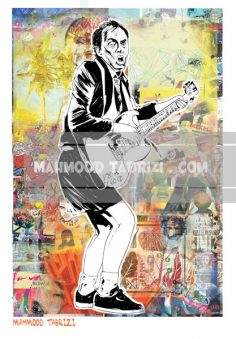 guitarist painting angus young mahmood tabrizi