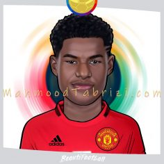 manchester united painting _ football painter _ Beautifootball