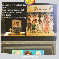 soccer toy – Football toy_doll  football team Stand