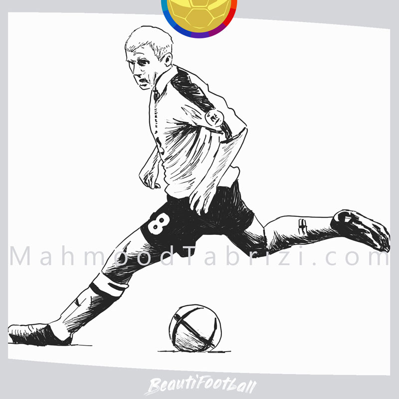 Designed by Mobile Drawing Paul Scholes