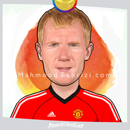 Manchester player's Painting
